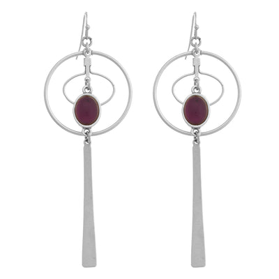 COSMOS Paddle Earrings