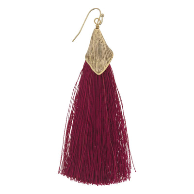 CALLA Tassel Earrings