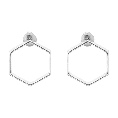 "UNSTOPPABLE .5"" Hexagon Studs"