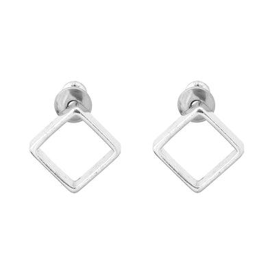 "RADIATE 3/8"" Diamond Studs"