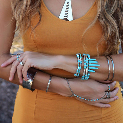 BLUE LAGOON Hand Chain