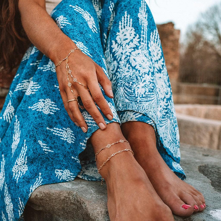 SUNKISSED Anklet