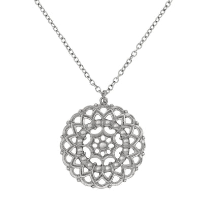 WANDERLUST Mandala Necklace