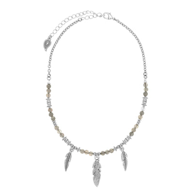 WILD HEART Feather Choker