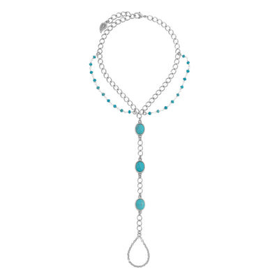 VOYAGE Turquoise Foot Chain
