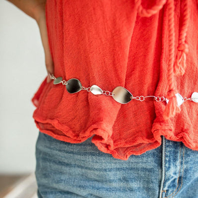 STEPPING STONES Belly Chain & Necklace