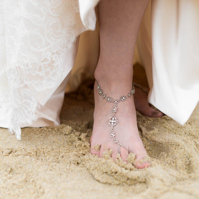 HOLLYWOOD Pearl Barefoot Sandals