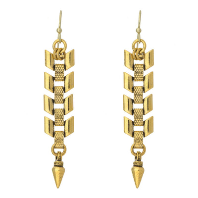 FLOYD Chevron Earrings