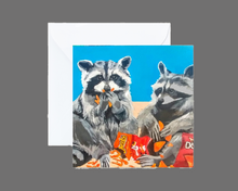 Load image into Gallery viewer, Junk Food Bandits Mini Print / Card
