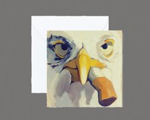 Load image into Gallery viewer, Seagull with Cig Mini Print / Card