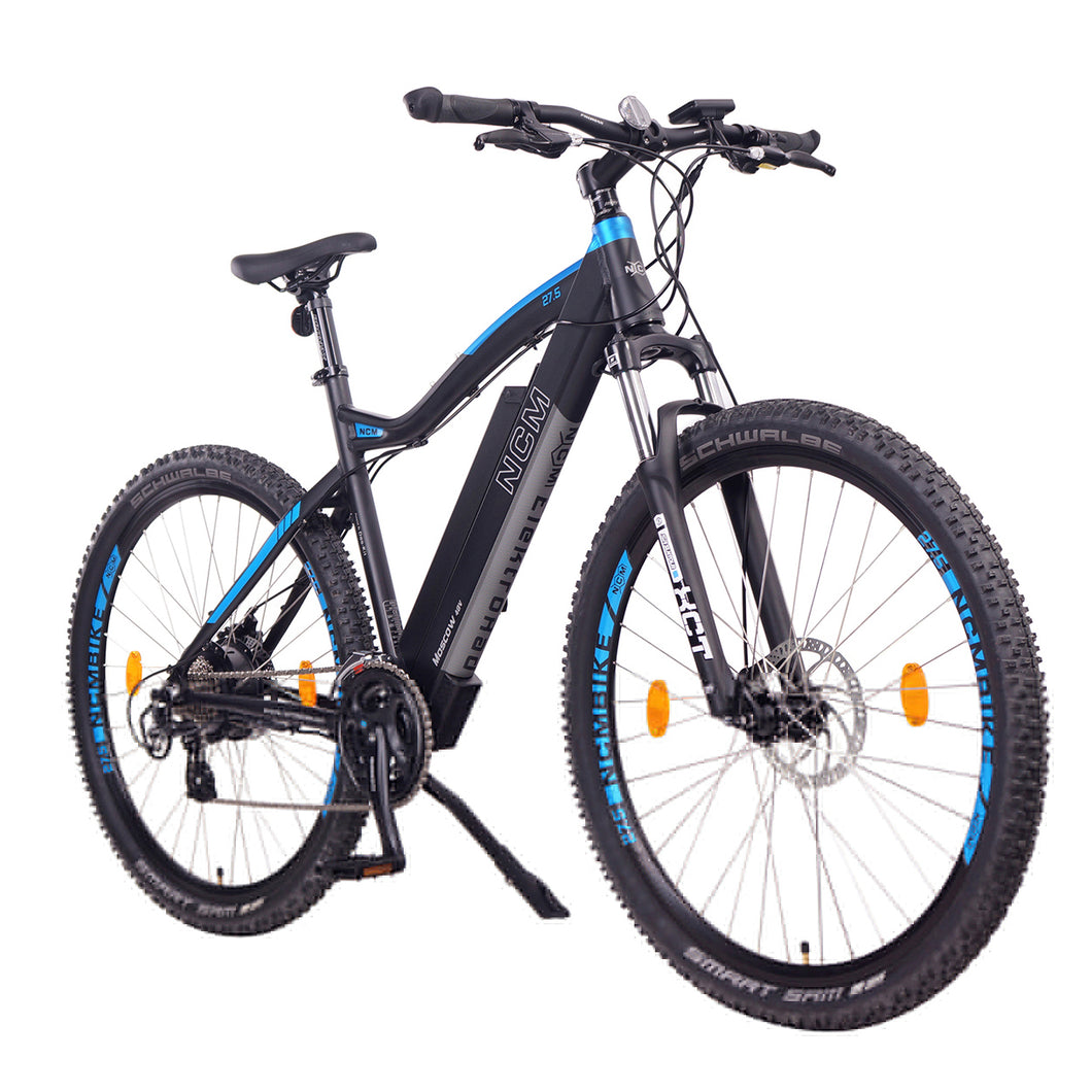 NCM Moscow electric mountain bike, E-Bike, 250W, E-MTB, 48V 13Ah 624Wh Battery