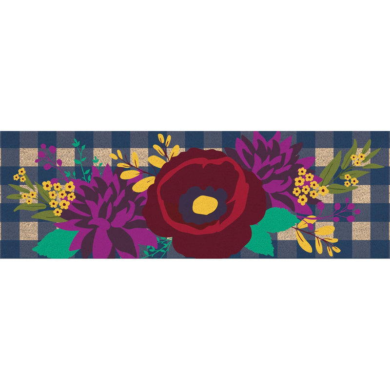 Fall Floral Check Kensington Switch Mat