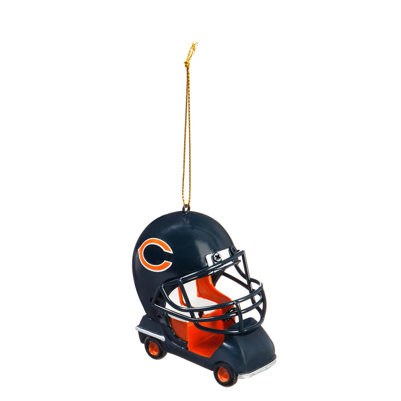 Evergreen Enterprises Chicago Bears, Field Car Ornament, 2.95'' x 2.17 '' x 2.95'' inches