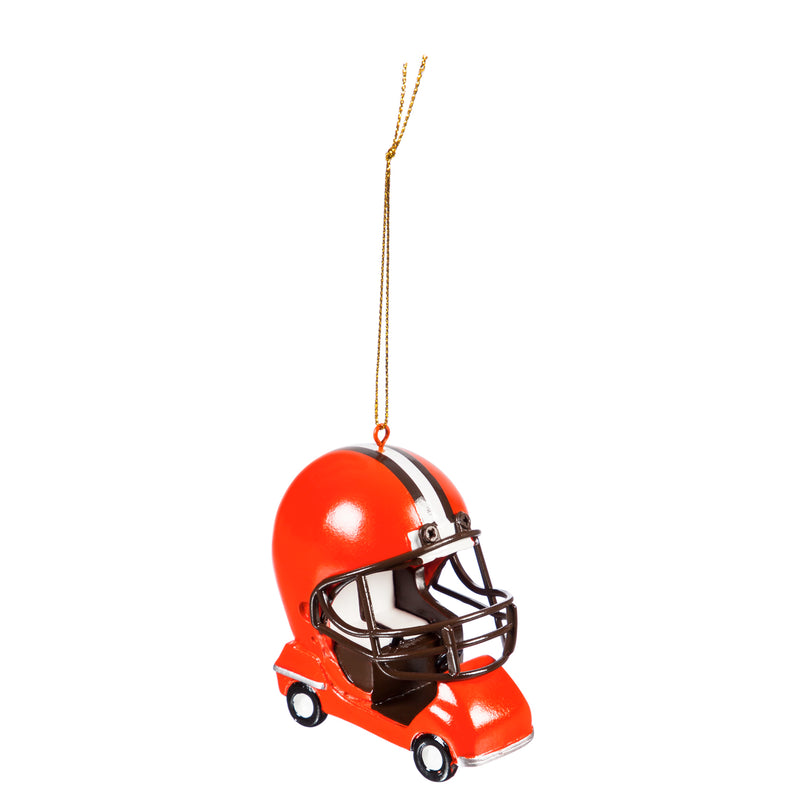 Evergreen Enterprises Cleveland Browns, Field Car Ornament, 2.95'' x 2.17 '' x 2.95'' inches
