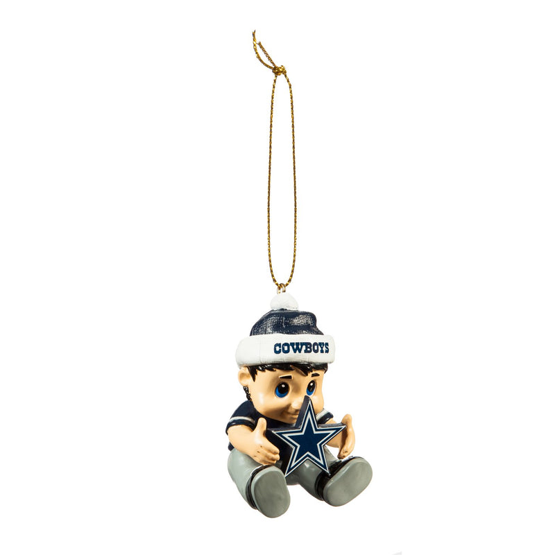 Evergreen Enterprises Dallas Cowboys, New Lil Fan, 1.75'' x 2 '' x 3'' inches