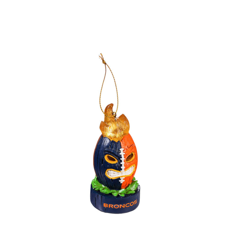 Evergreen Enterprises Denver Broncos, Lit Tiki Ball, 3.54'' x 3.54 '' x 3.54'' inches