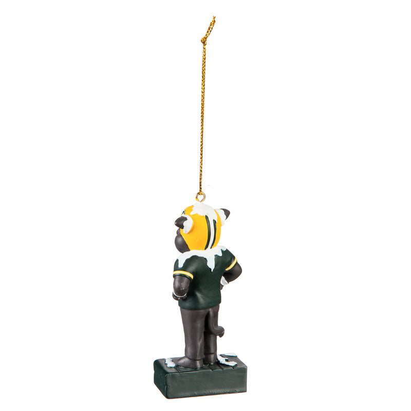 Green Bay Packers, Mascot Statue Ornament Officially Licensed Decorative Ornament for Sports Fans