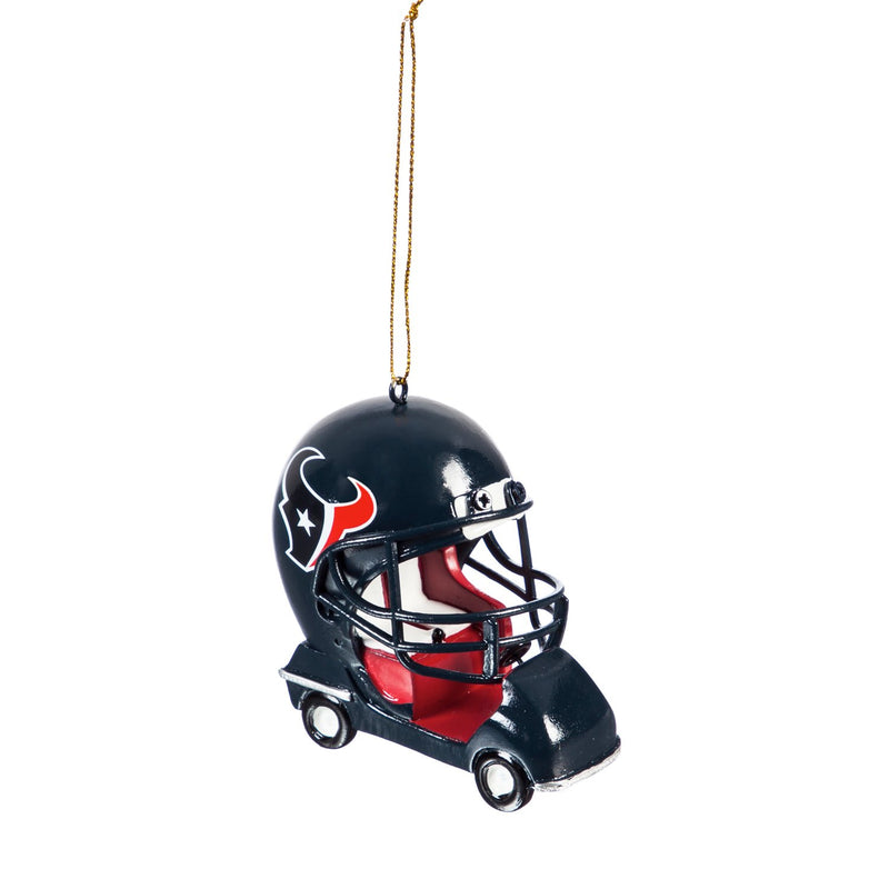 Team Sports America Houston Texans Vintage Field Cart Team Ornament