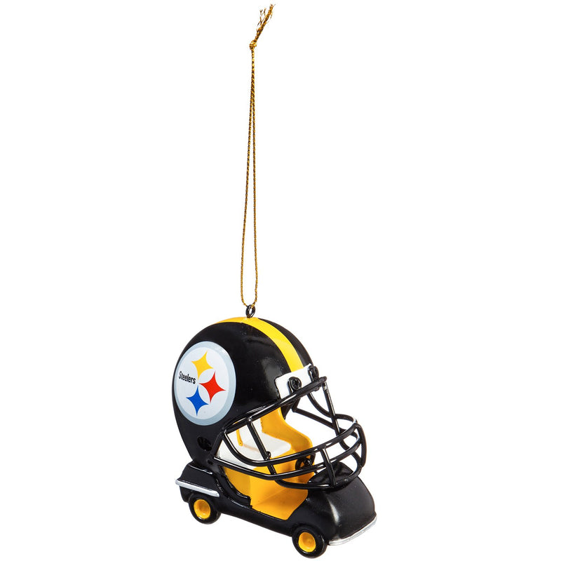 Team Sports America Pittsburgh Steelers Vintage Field Cart Team Ornament