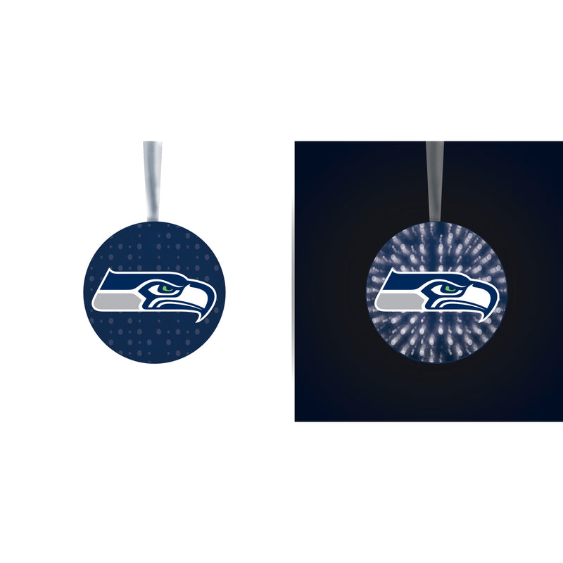 Evergreen Seattle Seahawks, Stargazing Orn  Set, 5.91'' x 3.54 '' x 3.54'' inches