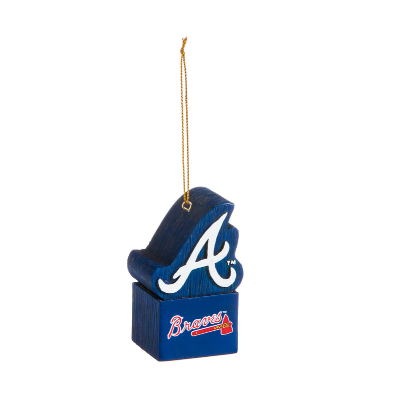 Mascot Ornament, Atlanta Braves