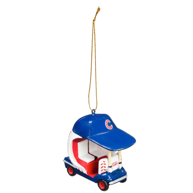 Evergreen Enterprises Chicago Cubs, Field Car Ornament, 2.95'' x 2.17 '' x 2.95'' inches