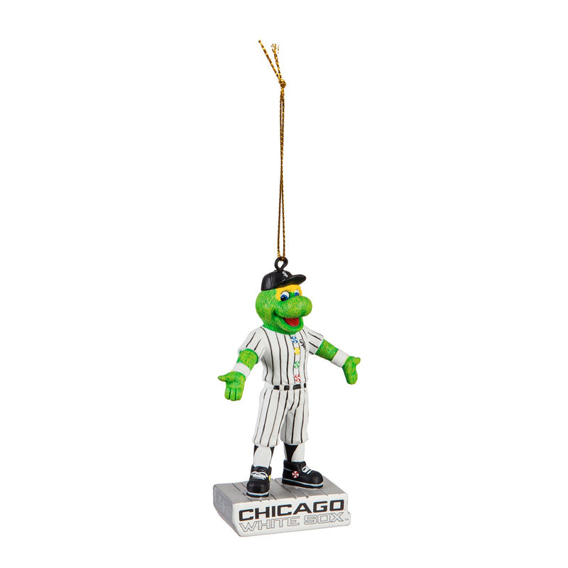 Evergreen Chicago White Sox, Mascot Statue Orn, 2.56'' x 1.38 '' x 3.5'' inches