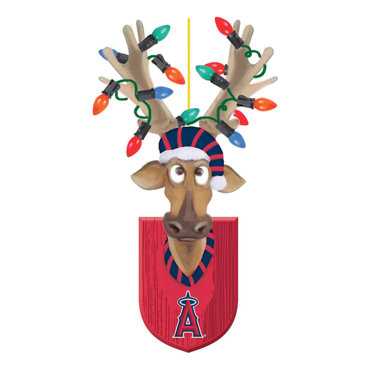 Evergreen Los Angeles Angels, Resin Reindeer Orn, 1.57'' x 2.36 '' x 4.02'' inches