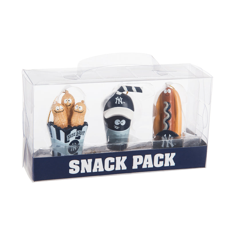 Evergreen New York Yankees, Snack Pack, 1.25'' x 1.5 '' x 2.25'' inches
