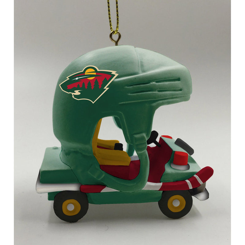 Evergreen Enterprises Minnesota Wild, Field Car Ornament, 2.95'' x 2.17 '' x 2.95'' inches