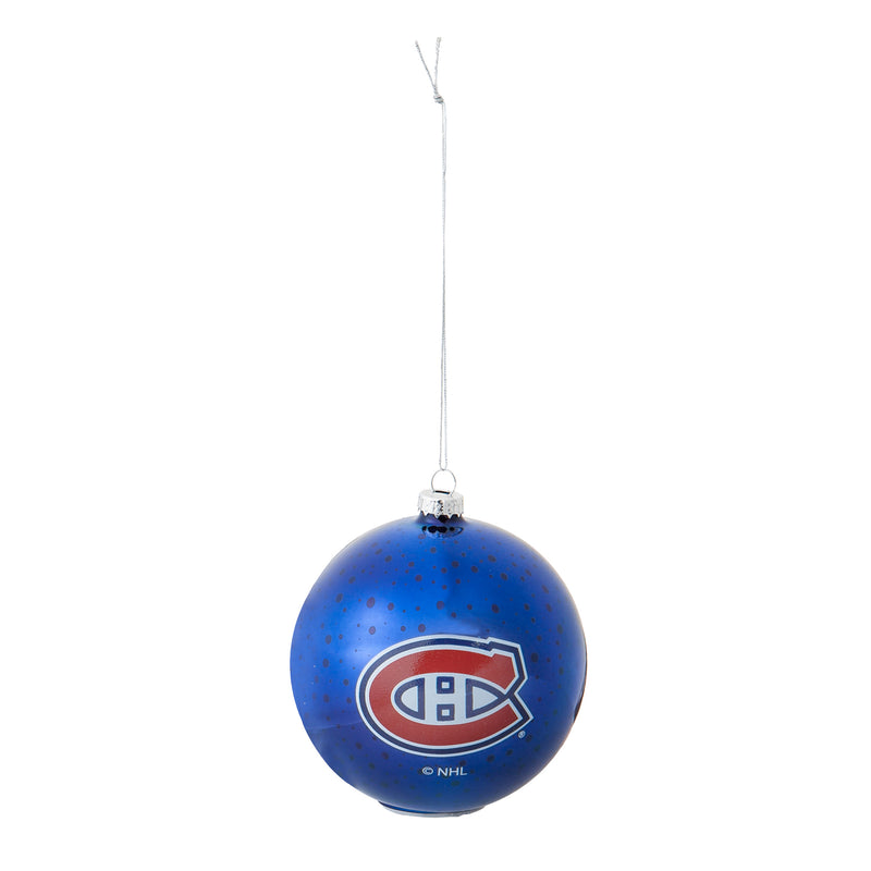 Evergreen Montreal Canadiens, Stargazing Orn  Set, 5.91'' x 3.54 '' x 3.54'' inches