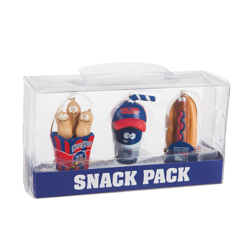 Evergreen New York Rangers, Snack Pack, 1.25'' x 1.5 '' x 2.25'' inches
