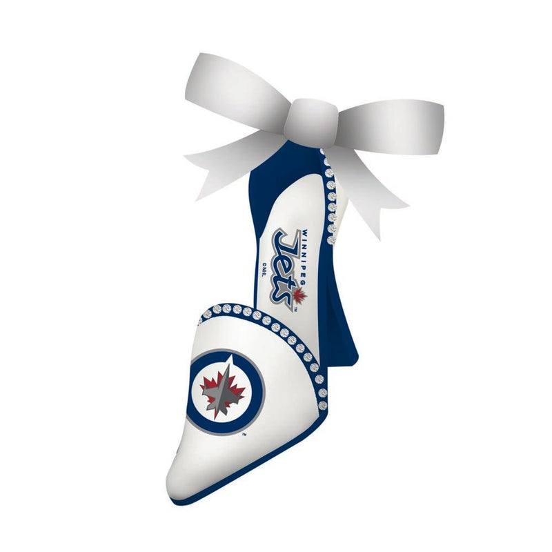 Team Sports America Team Shoe Ornament, Winnipeg Jets, 1.77'' x 0.98 '' x 0.54'' inches