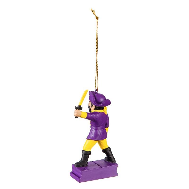 East Carolina University, Mascot Statue Ornament Officially Licensed Decorative Ornament for Sports Fans