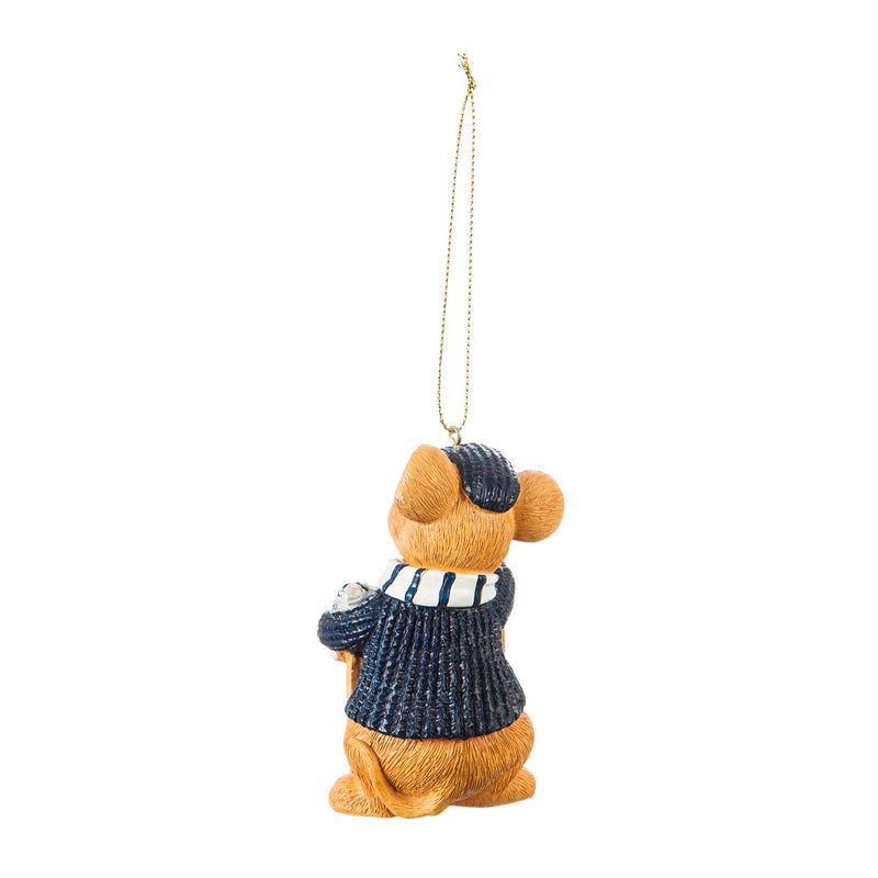 Pennsylvania State University, Holiday Mouse Ornament Officially Licensed Decorative Ornament for Sports Fans Ornament