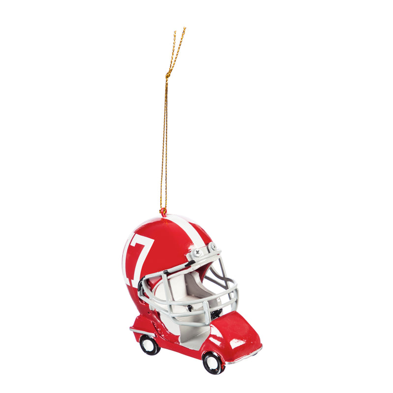 Evergreen Enterprises University of Alabama, Field Car Ornament, 2.95'' x 2.17 '' x 2.95'' inches