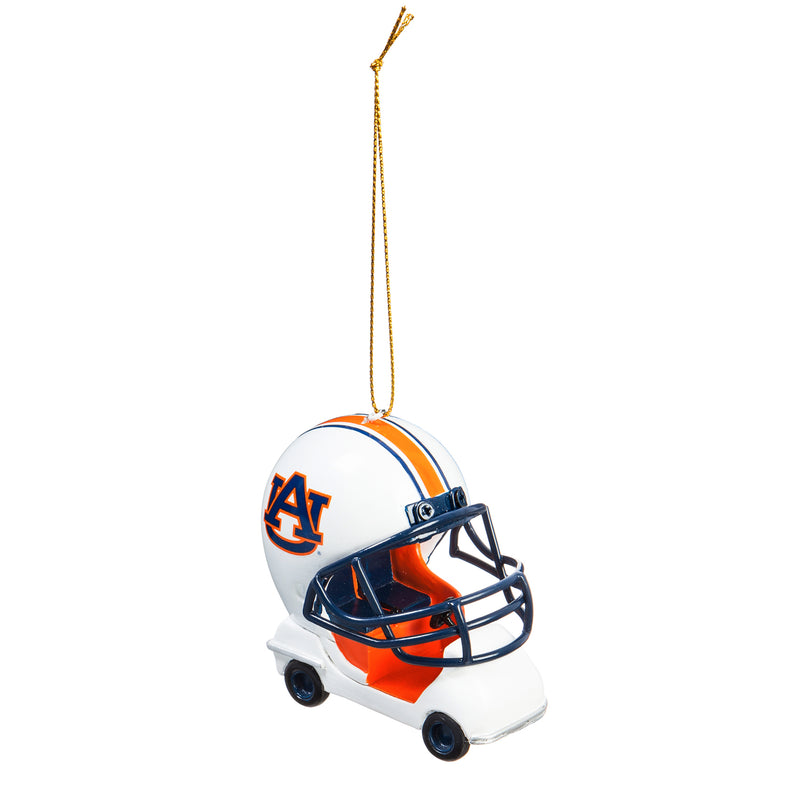Evergreen Enterprises Auburn University, Field Car Ornament, 2.95'' x 2.17 '' x 2.95'' inches