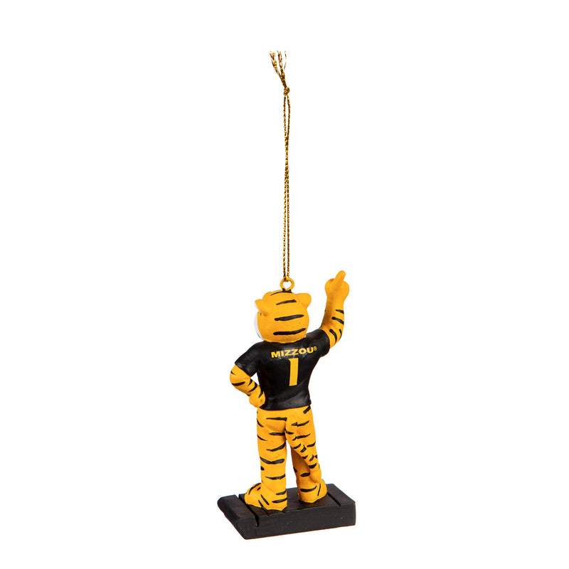 University of Missouri, Mascot Statue Ornament Officially Licensed Decorative Ornament for Sports Fans