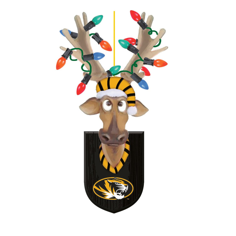 Evergreen University of Missouri, Resin Reindeer Orn, 1.57'' x 2.36 '' x 4.02'' inches
