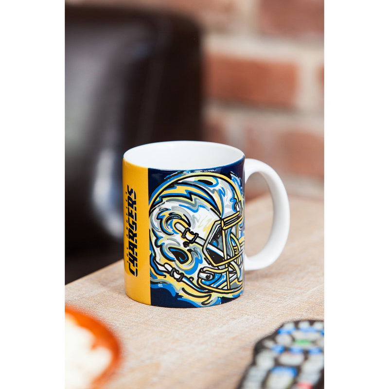 Los Angeles Chargers, 11oz Mug Justin Patten