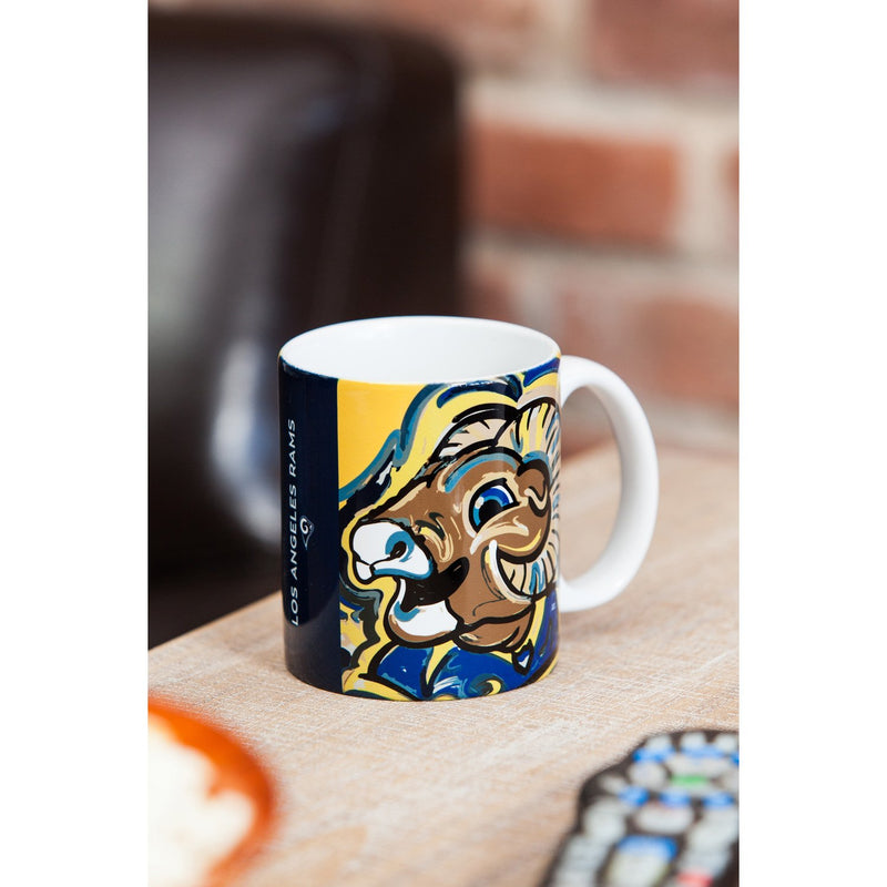 Los Angeles Rams, 11oz Mug Justin Patten