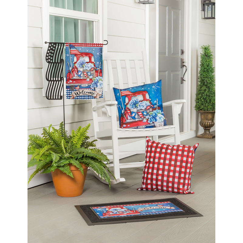 Patriotic Truck Sassafras Switch Mat