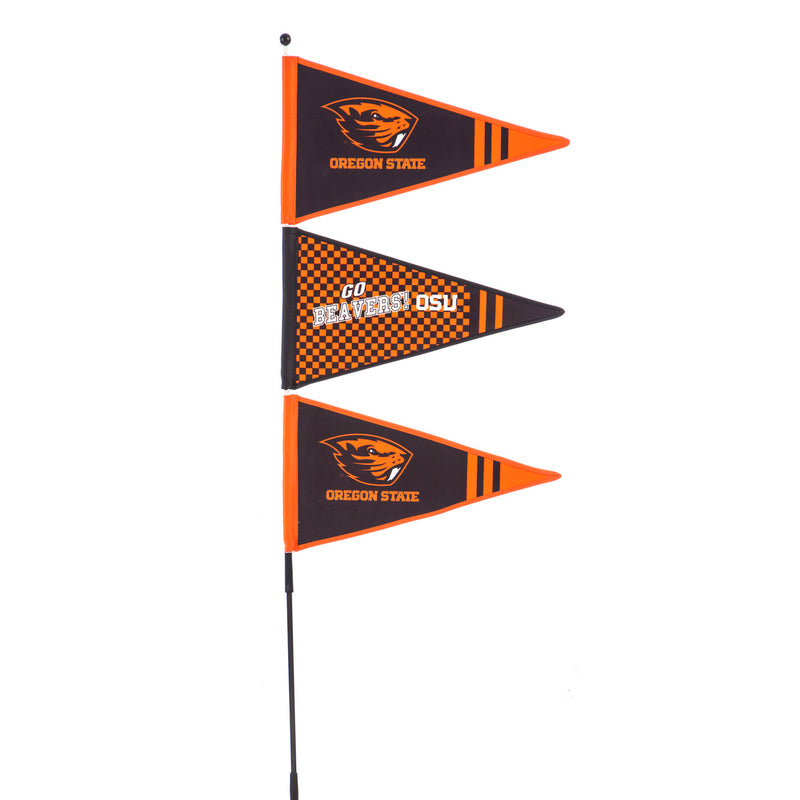Evergreen Windspinner, Pennant, Oregon State University, 56'' x 14.25'' inches