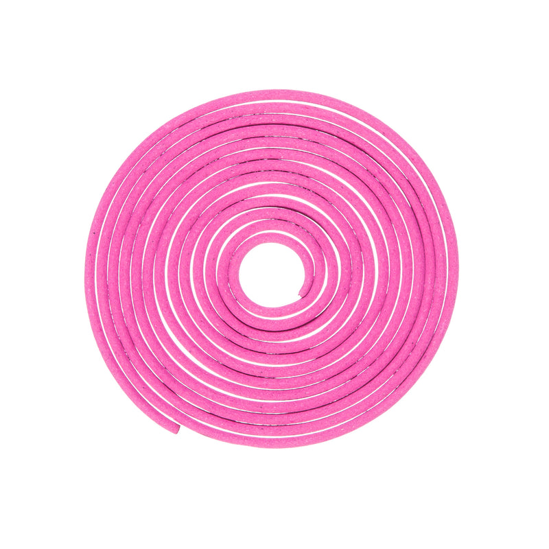 "Evergreen ZFence Citronella 5"" Diameter Spiral Refill, 4 PCS, Pink, 5'' x 5'' x 18'' inches."