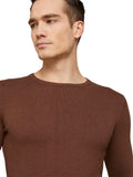 TOM TAILOR CASUAL MEN Basic Crew Neck Sweater