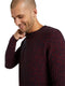 TOM TAILOR CASUAL MEN Structured Crew Neck Sweater