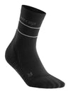 CEP reflective mid cut socks