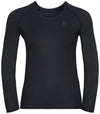 ODLO Damen BL TOP Crew neck l/s ACTIVE F-Dry