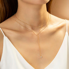 Load image into Gallery viewer, Choker Necklace with Zircon stone Jewelry