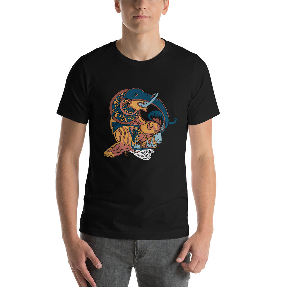 Rollup Elephant Graphic T-shirt